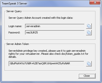 Настройка сервера тс3